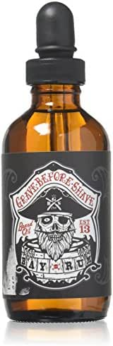 Grave Before Shave Beard Oil (Bay Rum Scent) 4 Oz. Bottle