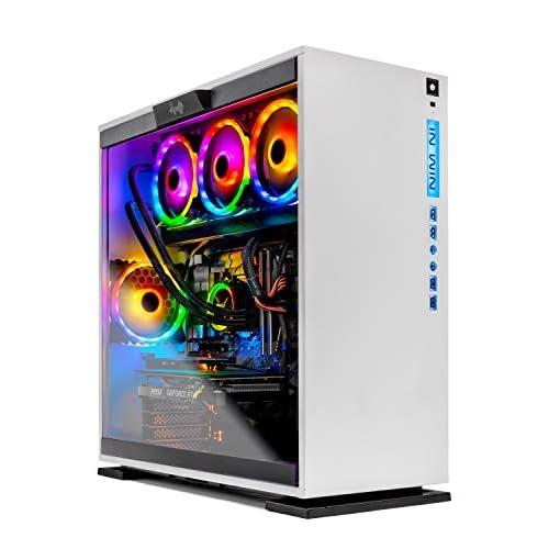 SkyTech Omega Gaming Computer PC Desktop – Intel i9-9900K 3.6GHz, 360mm AIO Liquid Cool, NVIDIA GeForce RTX 2070 Super 8G, 1TB SSD, 16GB DDR4, RGB, AC WiFi, Windows 10 Home 64-bit