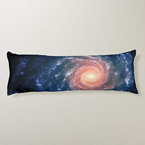 Spiral Galaxy NGC 1232 Astronomy Picture Body Pillow Covers 20x54 Zipper,Body Pillow Cases Decorative,for Women