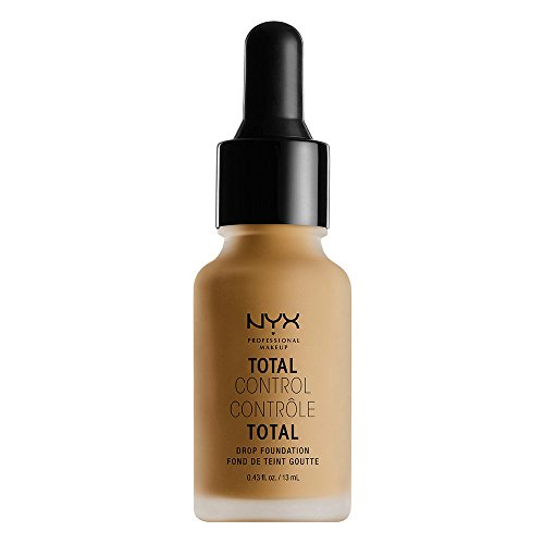 NYX PROFESSIONAL MAKEUP Total Control Drop Foundation, Caramel