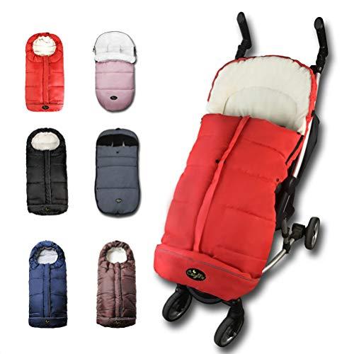 Warm Stroller Footmuff,Baby Sleeping Bag, Unisex Comfort Sleeping Sack, Waterproof,Anti-Slip,Extendable,Multifunction Use for 6-36M Baby