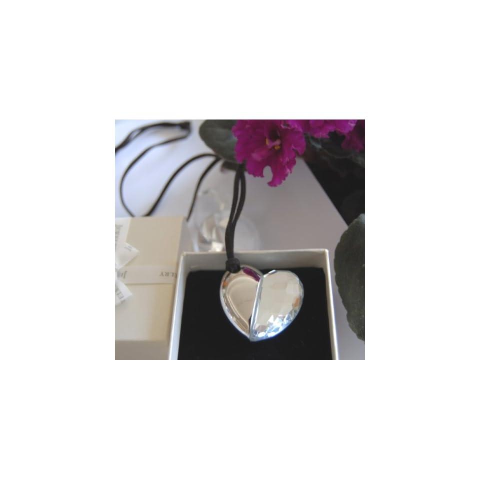 New Crystal Heart Shape Usb Flash Drive 8 Gb Usb Memory Stick Flash Pen Drive  Necklace