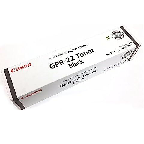 Canon (GPR-22) imageRUNNER 1025 Black OEM Toner Standard Yield (8,400 Yield)