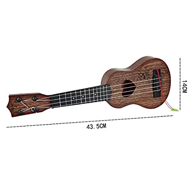 Queind Kids Children Can Play Simulation Guitar Toy Musical Instruments Toys Guitars & Strings