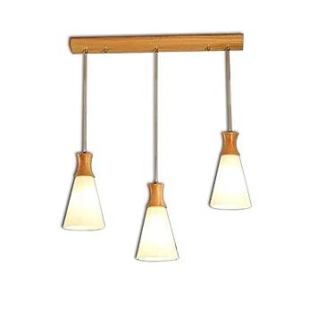 Xiao Fan Colgante Moderno de Madera Lámpara de Techo ...