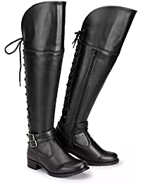 Bota Feminina Over The Knee Cano Alto
