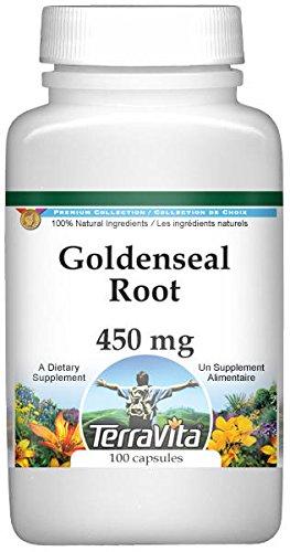 Goldenseal Root - 450 mg (100 Capsules, ZIN: 520297) - 2 Pack