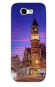 Exultantor Protection Case For Galaxy Note 2 / Case Cover For Christmas Day Gift(cityscapes )