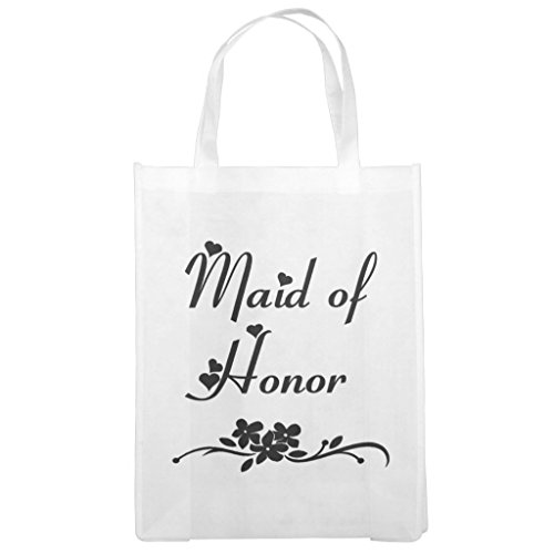 A955 Snap (Zazzle Classic Maid Of Honor Grocery Bag)