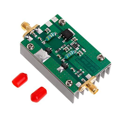 PoityA 1MHz-700MHz 3.2W RF Power Amplifier Module HF VHF UHF FM Transmitter Gain 35dB for Ham Radio