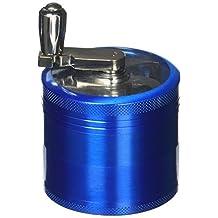 PuTwo Herb Grinder Pepper Grinder 55mm Spice Mills 4 Pcs Herb Grinder - New Blue