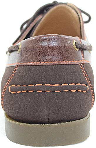 Mens Smart / Casual / Summer Lace Up Boat / Deck Shoes / Loafers Brown a9UAZ