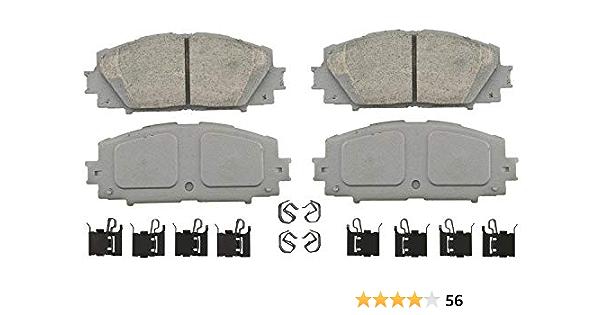 Front /& Rear 8 PCS Wagner Ceramic Disc Brake Pads Set For TOYOTA PRIUS 2010-2015