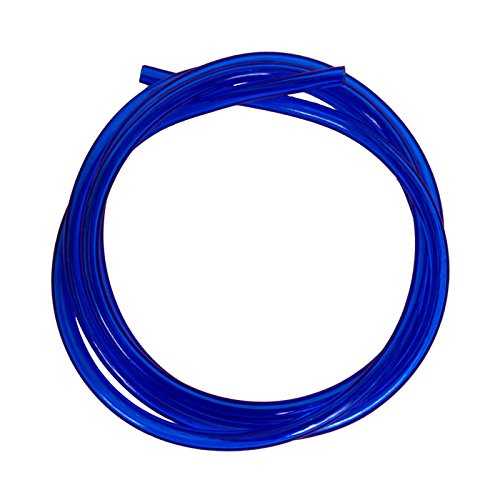 Outlaw Racing OR2096BU Motorcycle ATV Snowmobile PWC Jetski Polyurethane Carburetor Carb Line Hose Tube Tubing 5 Feet 1/8 Inch Blue from Outlaw Racing Products