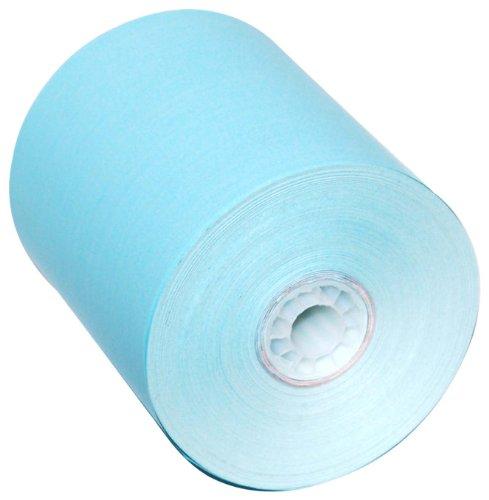 PM Company Feet Blue Thermal CSO POS Rolls, 3-1/8 Inch x 230, 50 per Carton (05214B) by PM Company