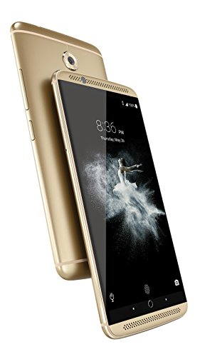ZTE Axon 7  Unlocked Smartphone,64GB Ion Gold (US Warranty)