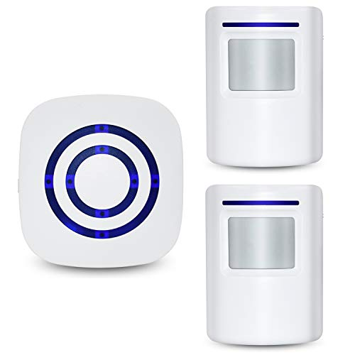 Tengcong Door Chime,Wireless Business Door Motion Sensor Detector Smart Visitor doorbell Home...