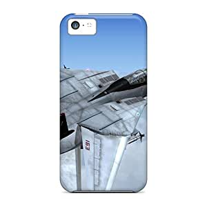 Brand New 5c Defender Case For Iphone (f 14 Tomcat Vf 101 Grim Reapers)