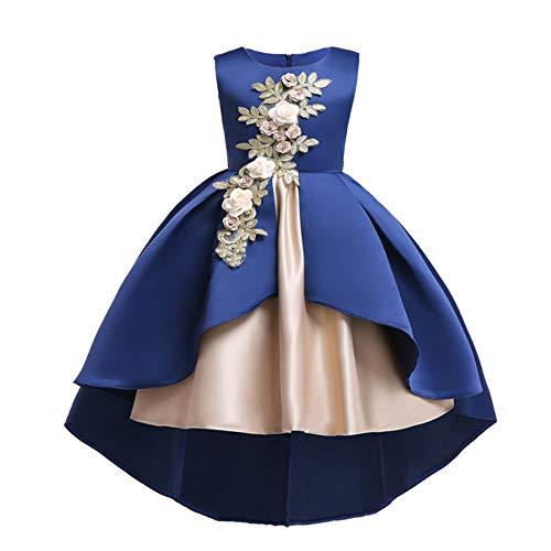princesa Ceremonia boda Tul Akaayuko de C infantil de Vestido TgS7x
