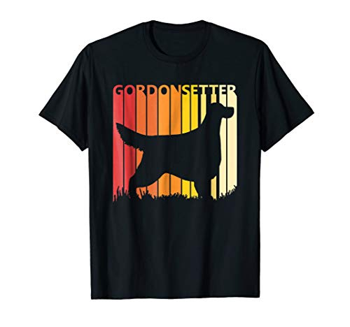 Retro Gordon Setter Dog T-shirt Merry Christmas Gift