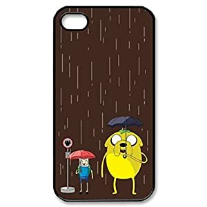 Finn And Jake Adventure Time Hard Cover Case for iPhone 5 5s case -black CASE