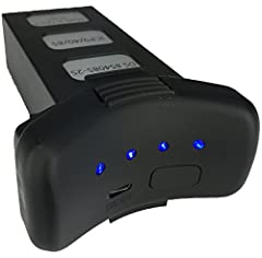The upgraded Promark LED Lithium Battery features a bigger, stronger 7.4V 2,500 mAh lithium-ion battery that provides more flight time per charge. Externally, the LED Lithium Battery was intelligently designed with 4 LED lights indicating the...
