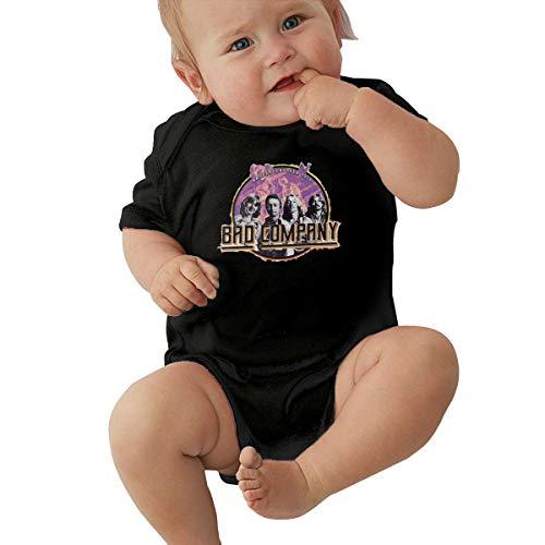 Qq1-asd-store Bad Company Boys//Girls Baby Cotton Long Sleeve Romper Warm Bodysuit