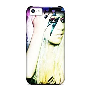 Hard Plastic Iphone 5c Cases Back Covers,hot Lady Gaga Cases At Perfect Customized