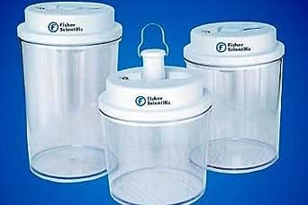 Fisher Scientific Circular Bottom Desi Vac Container