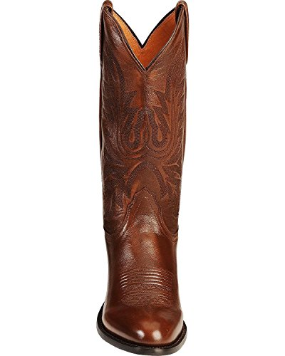 Lucchese Bootmaker Men's Carson-Ant Bn Lonestar Calf Cowboy Riding Boot, Antique Brown, 12 D US by Lucchese Bootmaker (Image #3)