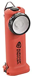 Streamlight 90540 Survivor Led Right Angle Flashlight, 6‑34‑inch, Orange