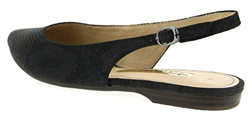 Sandals Heels 29614 Tamaris Black Women''s Struct Wedge qp1wvznT