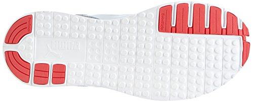 Puma Carson Runner Wn's Heather - zapatillas de running de material sintético mujer gris - Grau (gray-white-bright plasma 01)