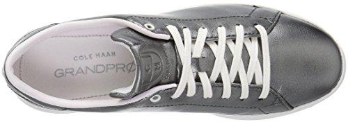 Cole Haan Frauen Grandpro Tennis Leder Spitze Ox Fashion Sneaker Metallisches Rotguss / Schwarz