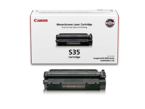 - Canon Original S35 Toner Cartridge - Black