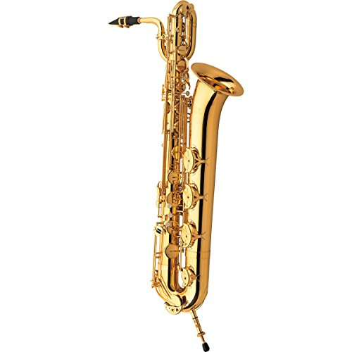 Used, YAMAHA YBS-41II saxophone baritone sax with mouthpiece for sale  Delivered anywhere in USA