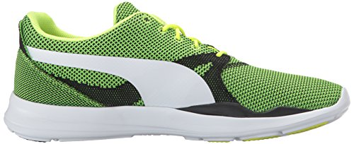 clearance largest supplier for sale top quality Puma Men's Duplex Evo Knit Fashion Sneaker Safety Yellow/Steel Gray visit new finishline 7OqZvDoswK