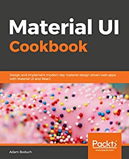 Amazon com: Material UI Cookbook: Design and implement