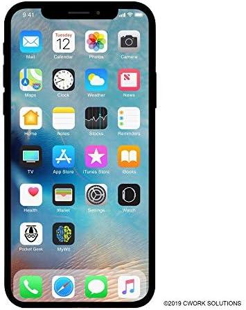 [해외]Apple iPhone X GSM Unlocked 256GB - Silver (Renewed) / Apple iPhone X GSM Unlocked 256GB - Silver (Renewed)