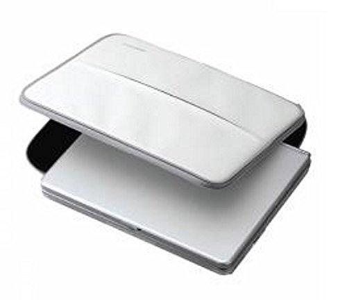 ednet 10137Laptop/Handtasche/Aktenmappe Fall (weiß, 177.8mm (17,8cm), 152.4mm (15,2cm), 255x 40x 190mm, Polyurethan)