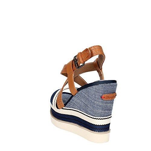 Wrangler WL171664 Sandalias Mujer Azul 38