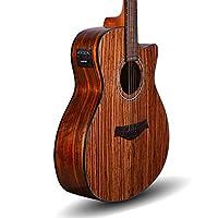 Kadence Acoustica A05 semi acoustic guitar Zebra Wood 4