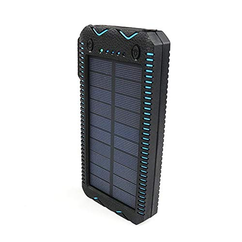15000 mAh Solar Charger Power Bank - Orange