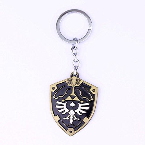 Legend of Zelda Hylian Shield llavero: Amazon.es: Oficina y ...