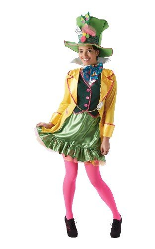Rubie's Official Ladies Alice In Wonderland, Mad Hatter Adult's Costume - Large]()