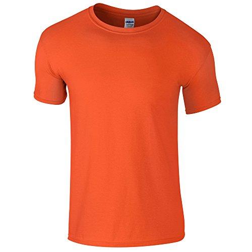 Gildan Softstyle, adult ringspun t-shirt Orange S ()