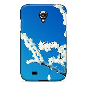QIHSaPs1601zuoaA Case Cover Protector For Galaxy S4 Snow Case