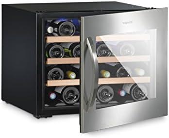 Dometic MaCave S 24G - Cava de vino empotrable de compresor con puerta de cristal, hasta 24 botellas de capacidad[Clase de eficiencia energética B]