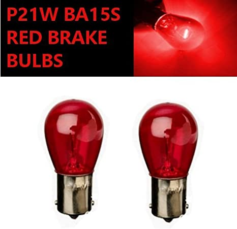 Red LED Car Stop Brake Tail Light Bulb Dual Filament 12V