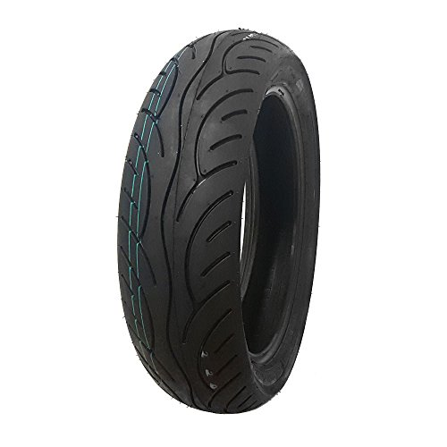 Street Motorcycle Scooter Tire 120/80-14 Front or Rear Sport Touring ()